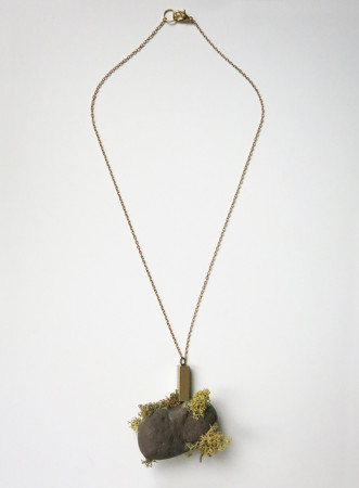 "Mezzopiano Collection ""Alghe"" [""Seaweed""] - Handmade jewelry SS 2016 - Designer Luisa Littarru"